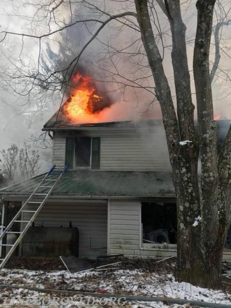 2018-01-01  Residential Structure Fire - Three Ponds LN / Glenville RD